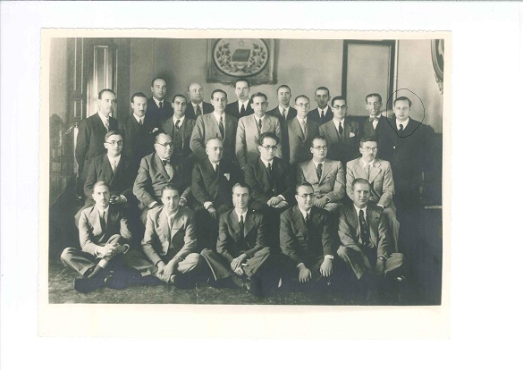 Promoción Notarías 1935