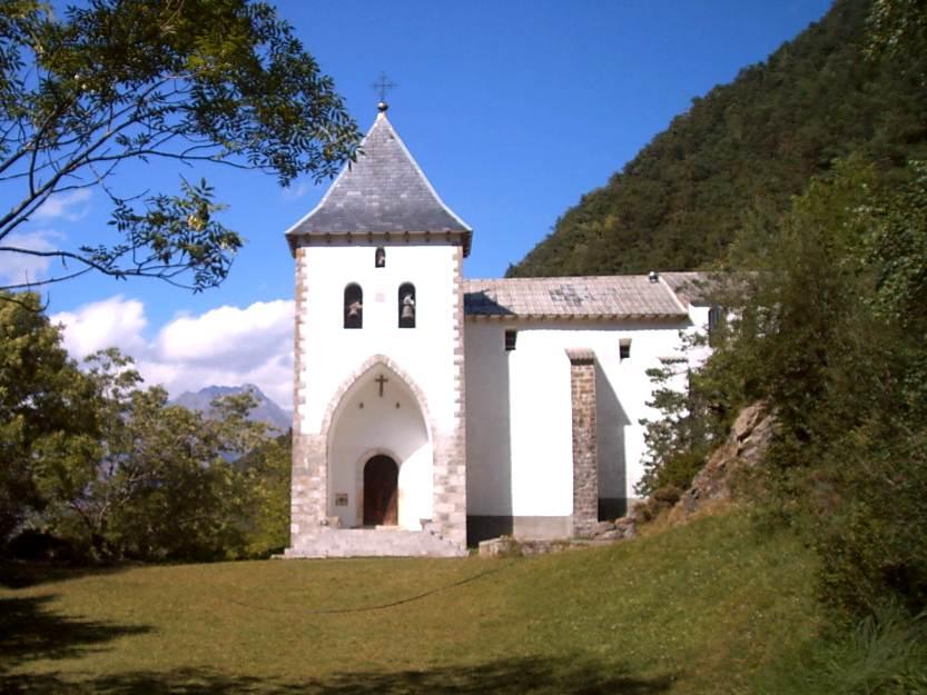 Ermita de Santa Elena, Biescas, Valle de Tena (Huesca)