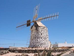 Fuerteventura. Molino en La Oliva.