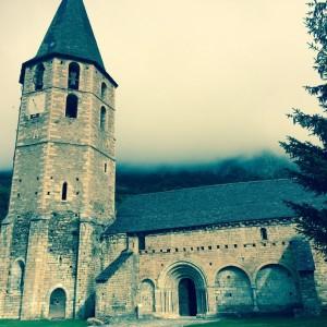Iglesia románica. Salardú. Vall d´Arán (Lleida). Enviada por José Antonio Jordana de Pozas