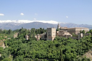 Sierra Nevada desde Granada
