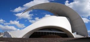 Auditorio de Santa Cruz de Tenerife.