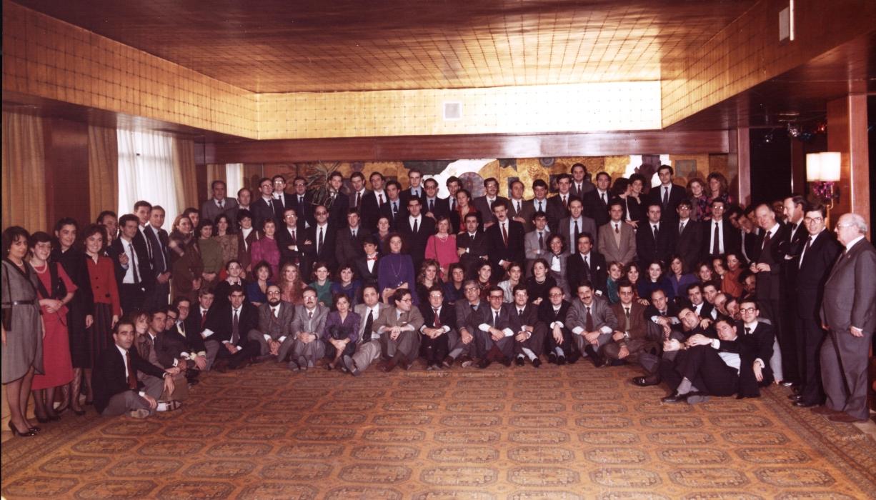 Promoción Oposiciones Registros 1985
