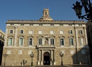Barcelona. Palau de la Generalitat de Catalunya «Palau de la Generalitat de Catalunya. Trabajo propio de Mutari