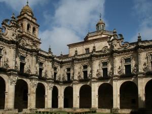 Monasterio de El Salvador, fundado por San Rosendo, en Celanova (Orense), por Dirkvde