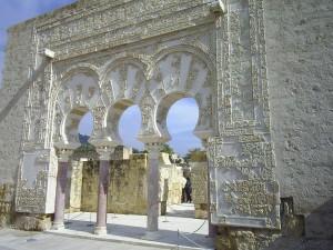 Medina Azahara (Córdoba). Puerta del primer ministro. Trabajo propio de Wwal.