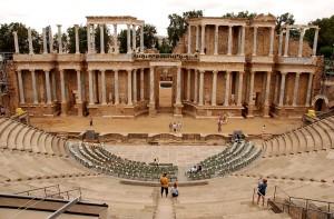Mérida (Badajoz). Teatro Romano. Helen Rickard, via Wikimedia Commons