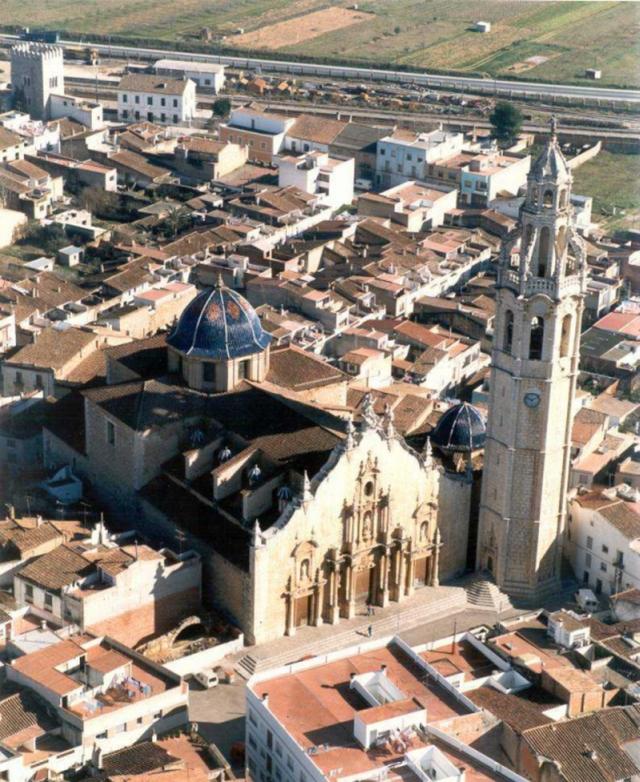 Alcalá de Xivert (Castellon). Iglesia Parroquial de San Juan Bautista. Por Consellería de Cultura.