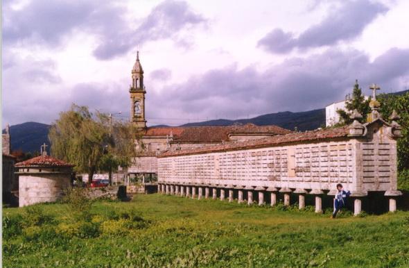 Hórreo de Carnota (A Coruña). Por Paconi
