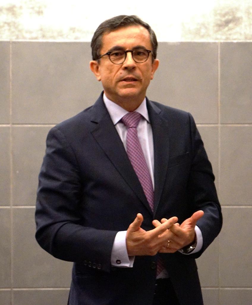 el Director General Francisco Javier Gómez Gálligo