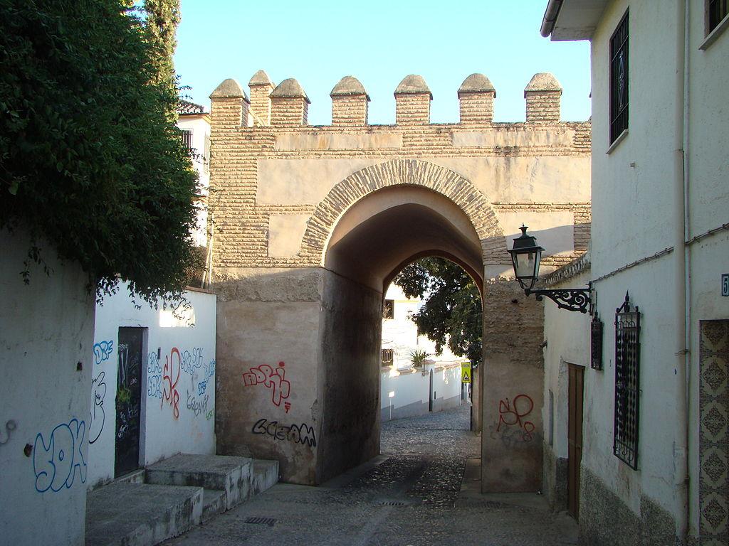 Granada. Puerta de Fajalauza. Por Pepepitos.