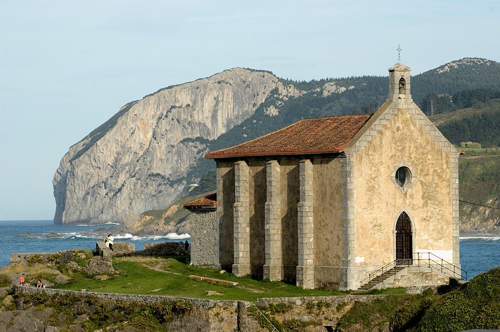 Mundaka (Vizcaya). Ermita de Santa Catalina