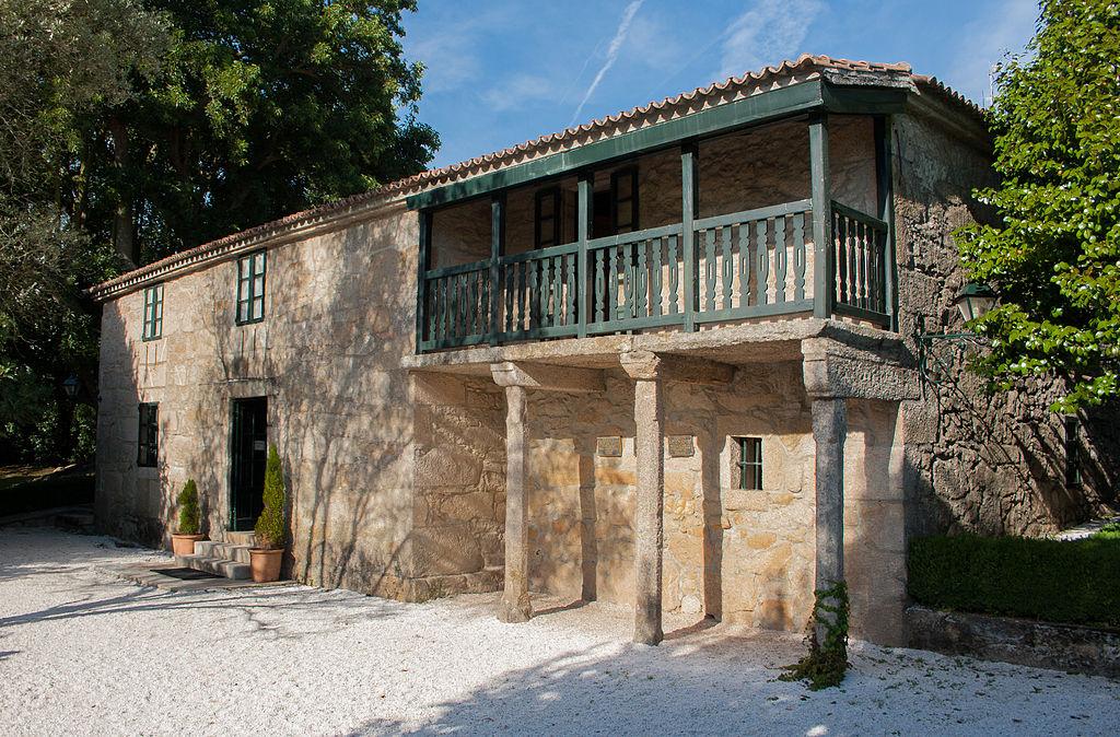 Casa Museo de Rosalía de Castro en Padrón (La Coruña). Por Iago Pillado.