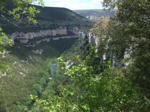 Cañón del Río Ebro (Burgos). Por Lumiago.
