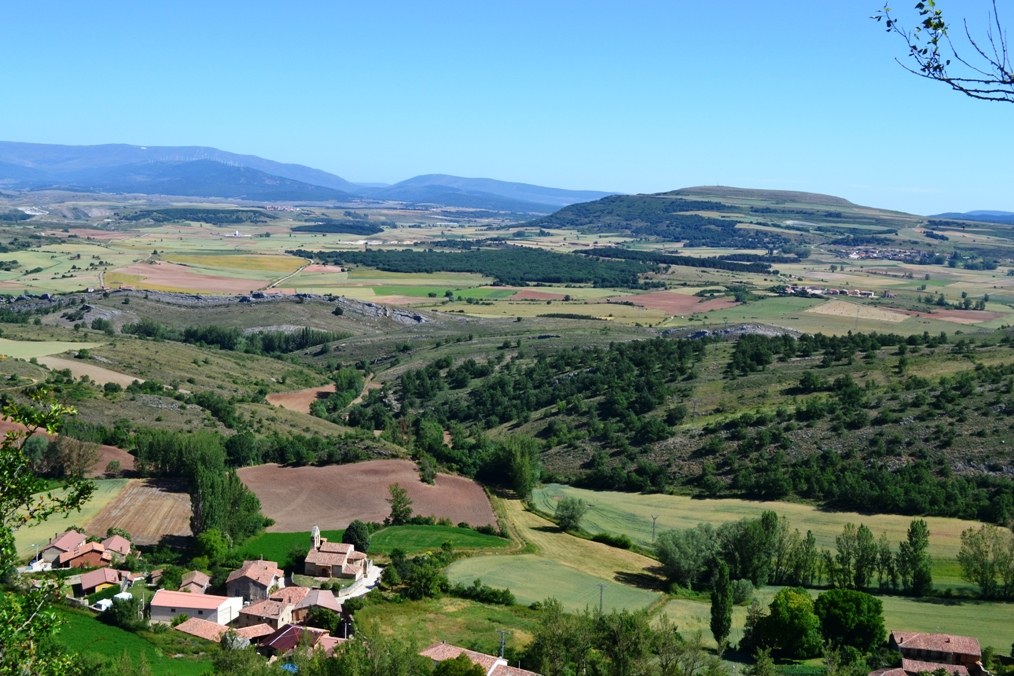 Gama (Palencia). Vista desde el Castillo. Por Ignacio Javier Merino Escartín.