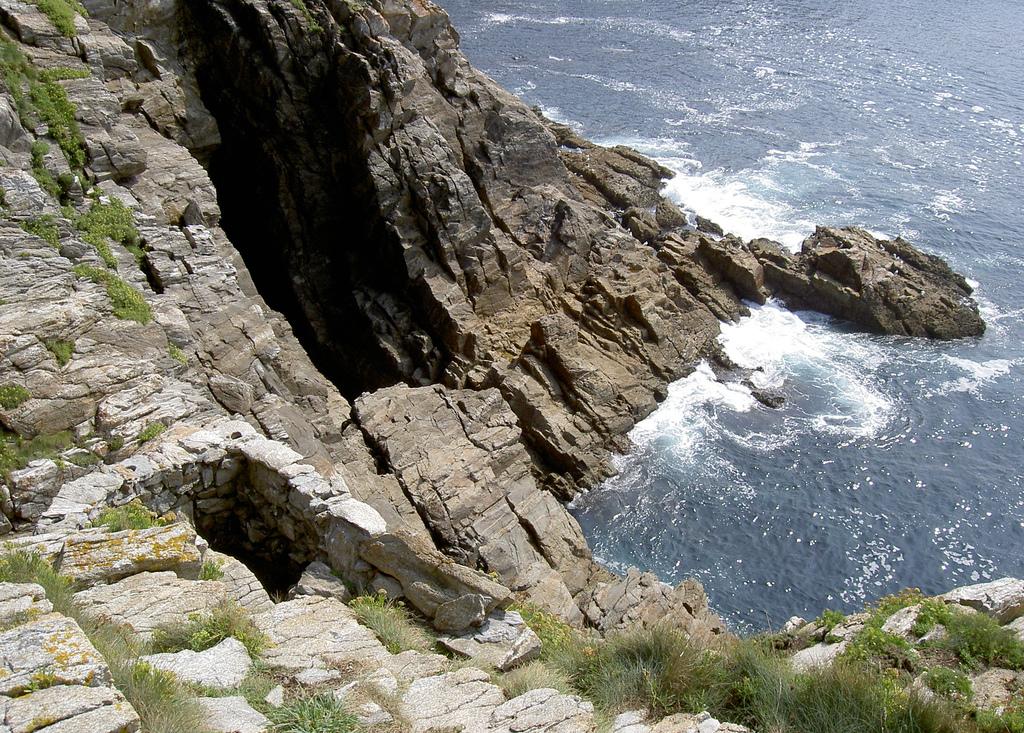 Isla de Ons (Pontevedra). Buraco do Inferno