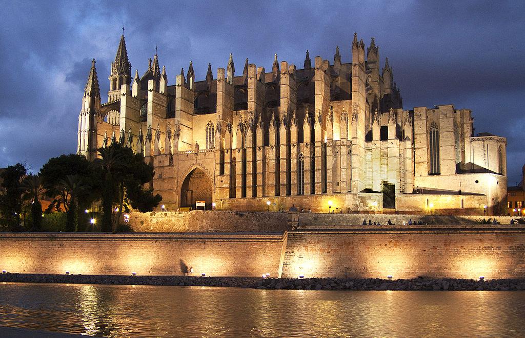 Catedral de Palma de Mallorca, por Bizarro.