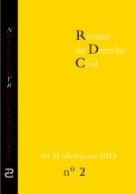 Revista de Derecho Civil nº 6. Segundo ejemplar del Año II.