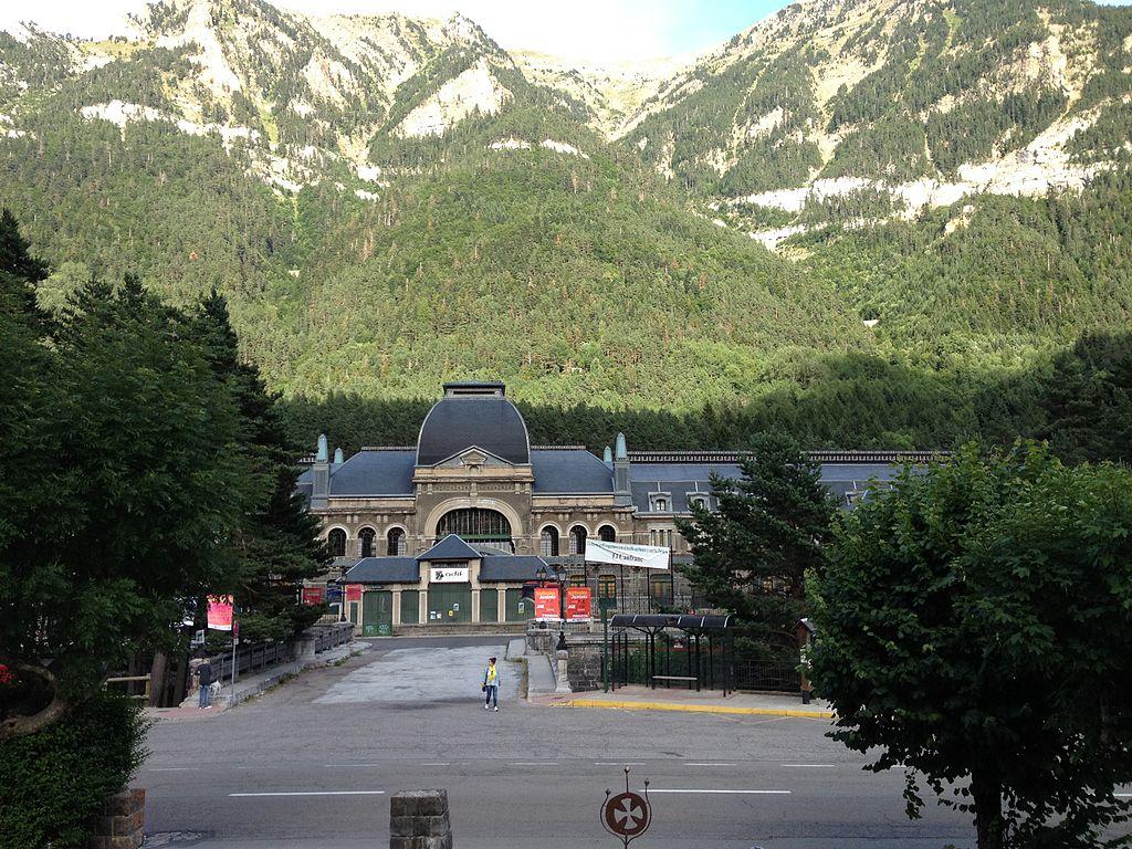 Estación Internacional de ferrocarril de Canfranc (Huesca). Por Federico Gómez.