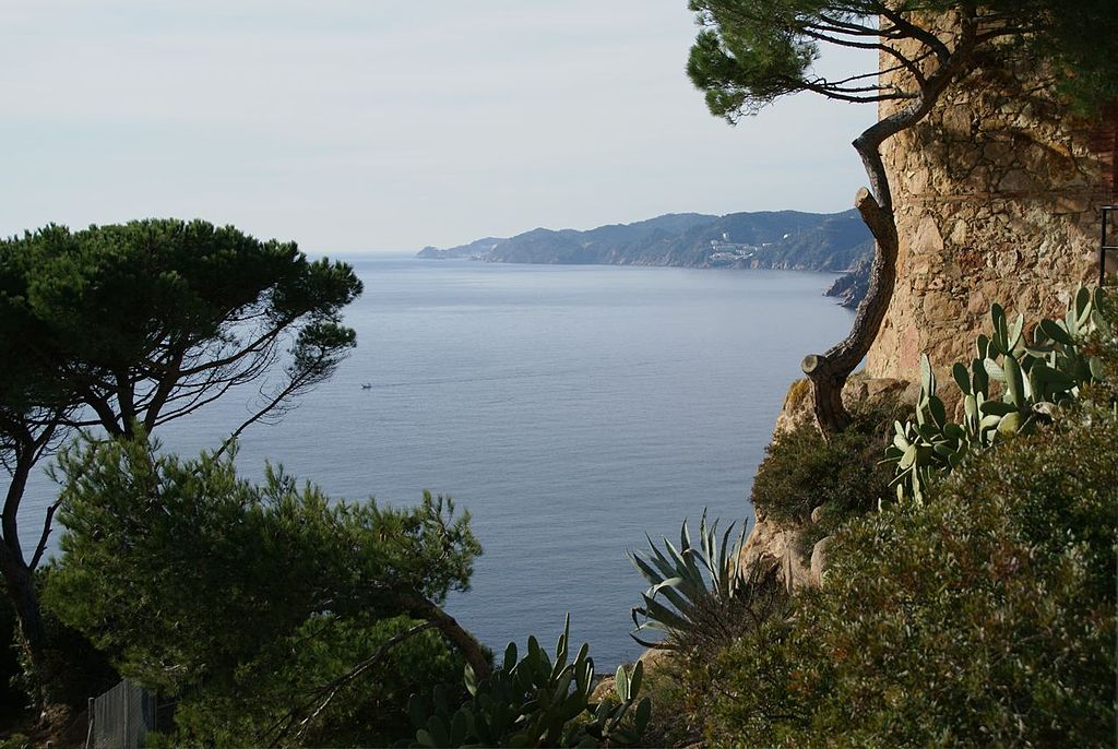 La Costa Brava desde Sant Elm. Por Flamenc.