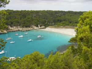 Cala de Trebalúger en Menorca. Por Gabriel Vidal.