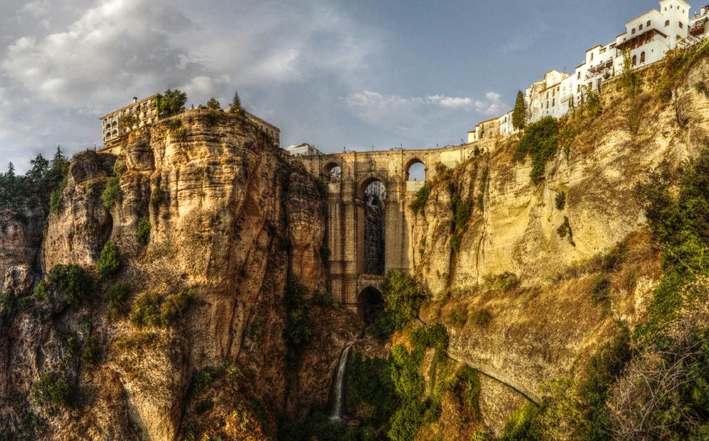 Ronda (Málaga). Puente nuevo.