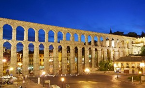 Acueducto de Segovia. Por Jebulón.