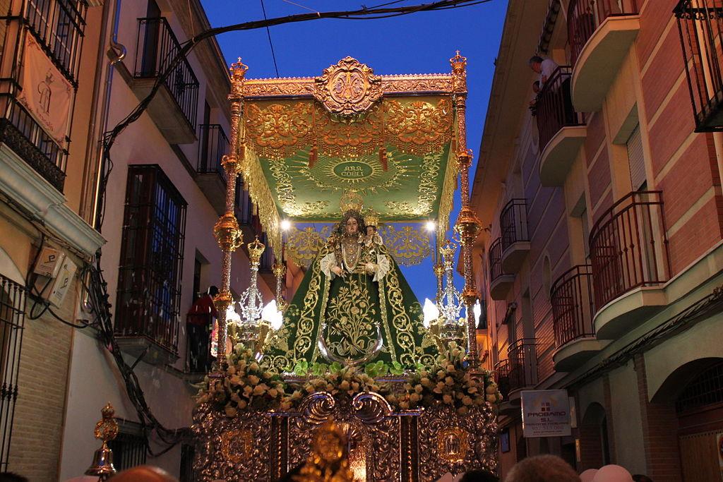 Virgen de Araceli. Lucena (Córdoba). Por Jufebu.