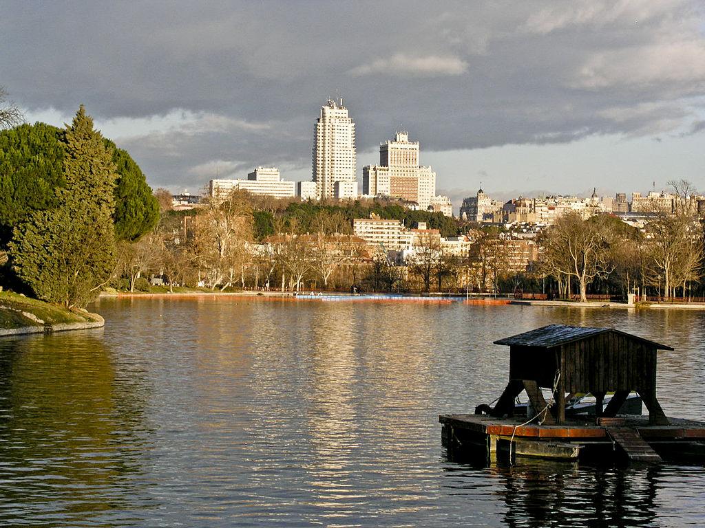 Lago de la Casa de Campo (Madrid). Por I, Xauxa