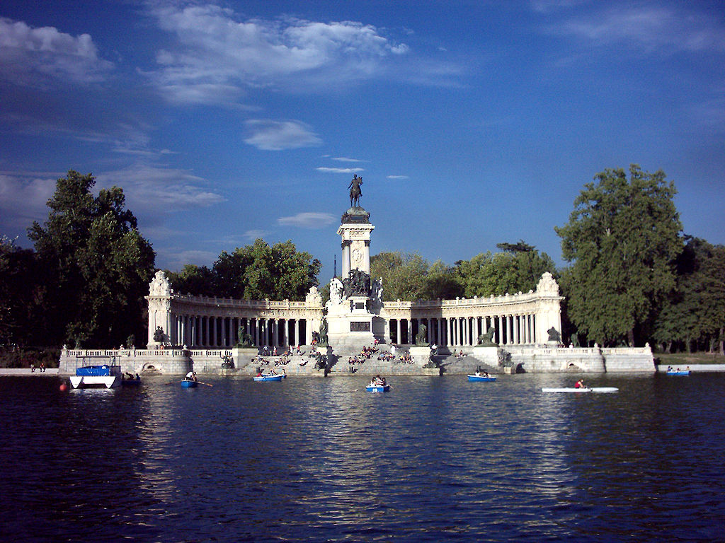 Estanque de El Retiro. Madrid.