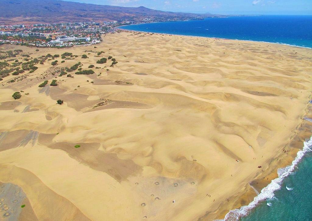 Dunas de Maspalomas. Sur de Gran Canaria.