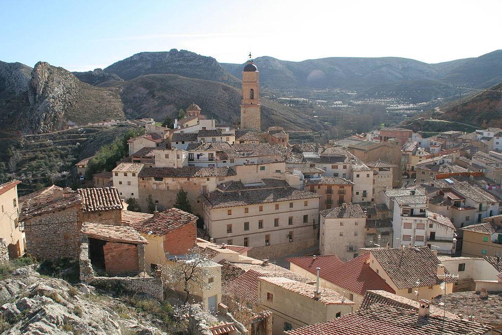 Molinos (Teruel). Por jnerin.