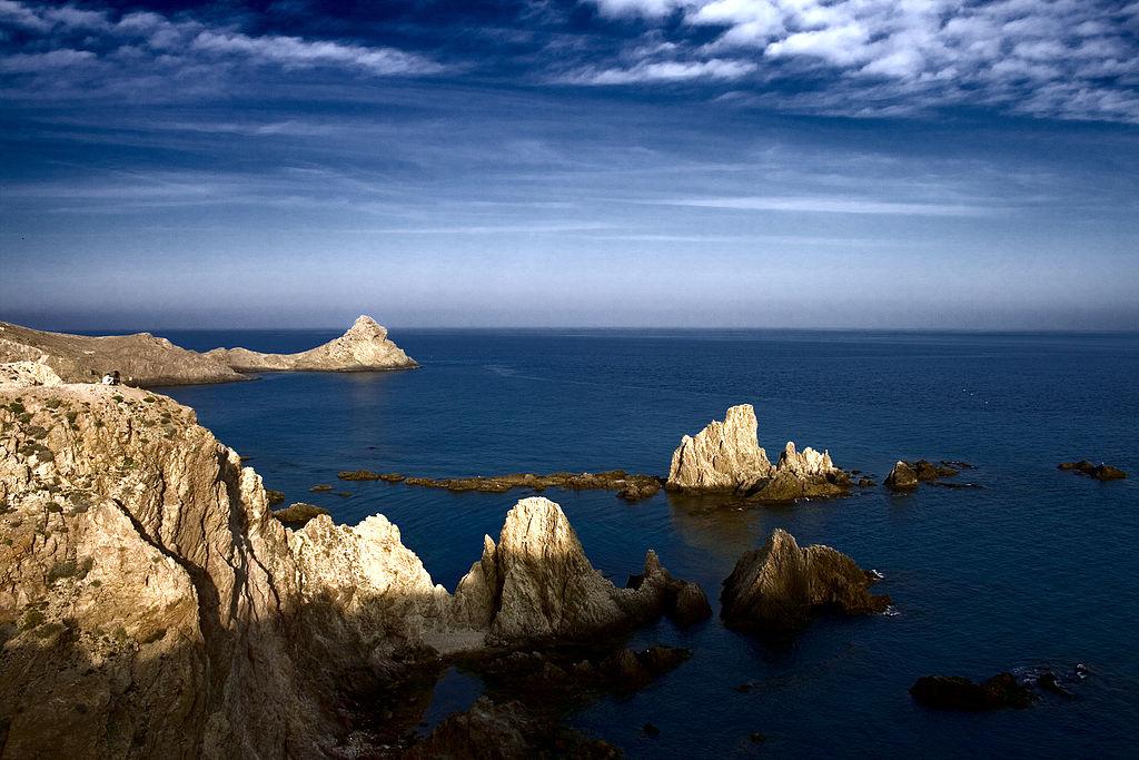 Arrecife de las Sirenas. Cabo de Gata (Almería). Por Gabriel Villena.
