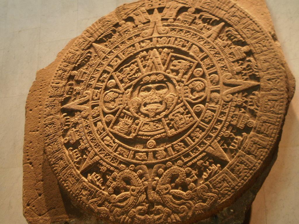 Calendario Azteca. México. Por Ramón Ortega