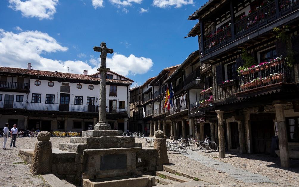 La Alberca (Salamanca). Plaa Mayor. Por tetedelart1855