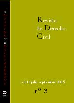Revista de Derecho Civil nº 7. Tercer ejemplar del Año II.