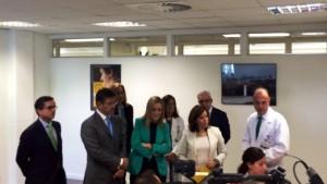 Vicepresidenta del Gobierno, Presidenta de la Comunidad de Madrid, Ministro de Justicia y Director General de los Registros y el Notariado.