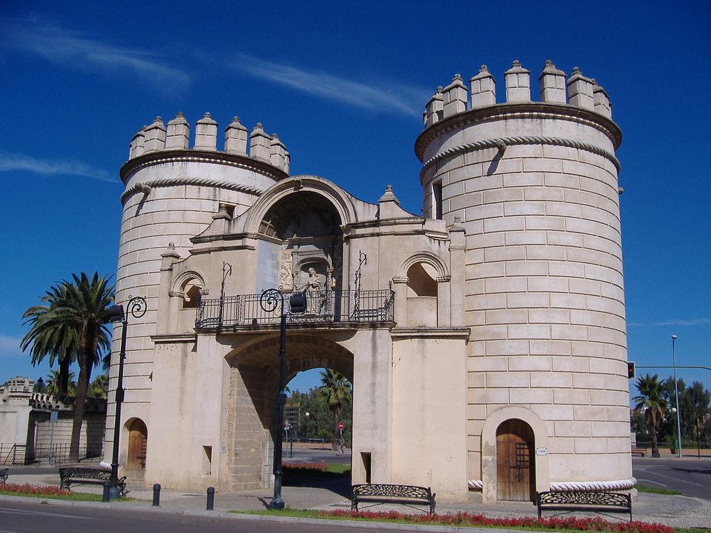 Badajoz. Puerta Palmas.