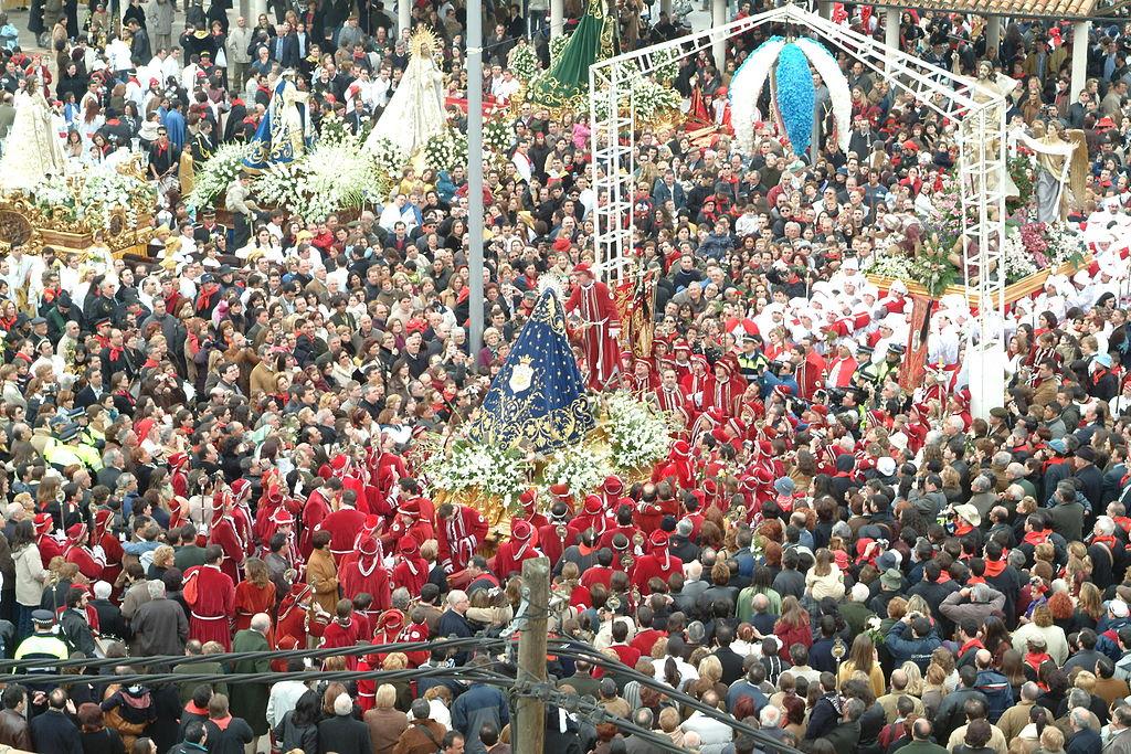 Domingo de Resurrección en Hellín (Albacete). Por Fotos Ortega.