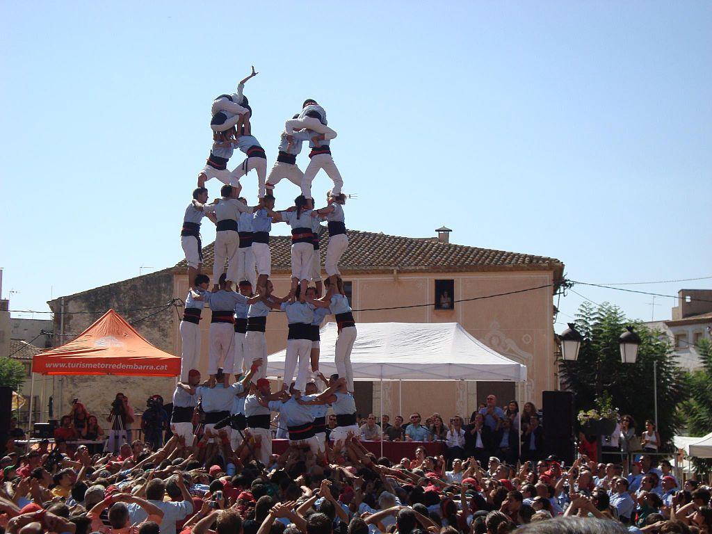 Concurs de Catells. Torredembarra (Tarragona). Por Josep Santacreu.