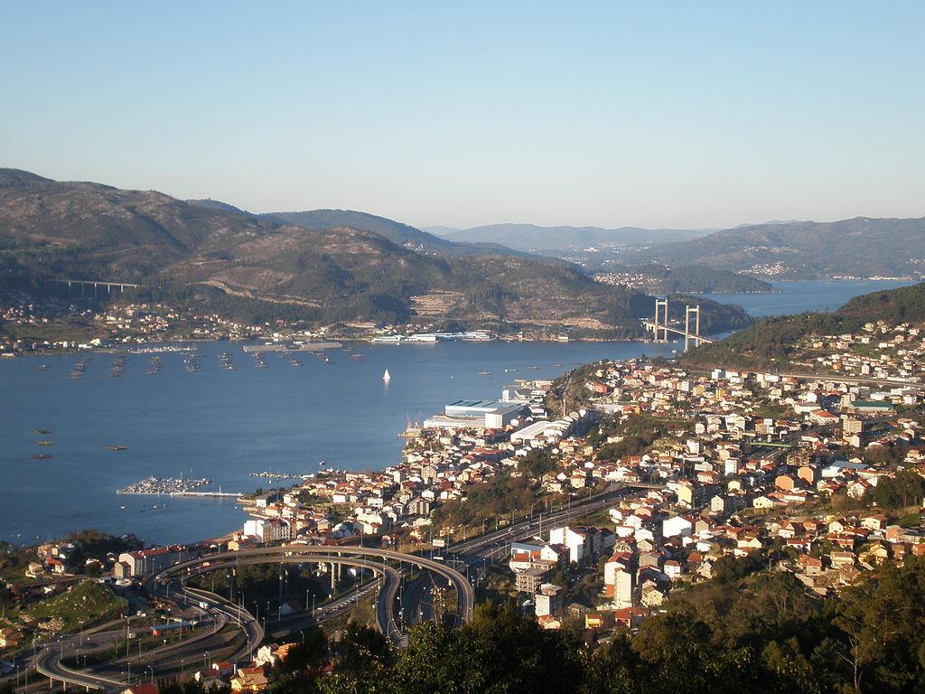 Ría de Vigo. Puente de Rande. Por Harpagornis