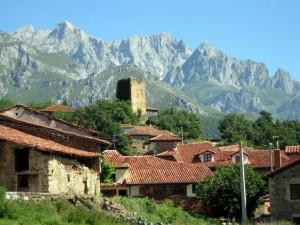Camaleño en el Valle de Liébana (Cantabria). Por Anabeil12