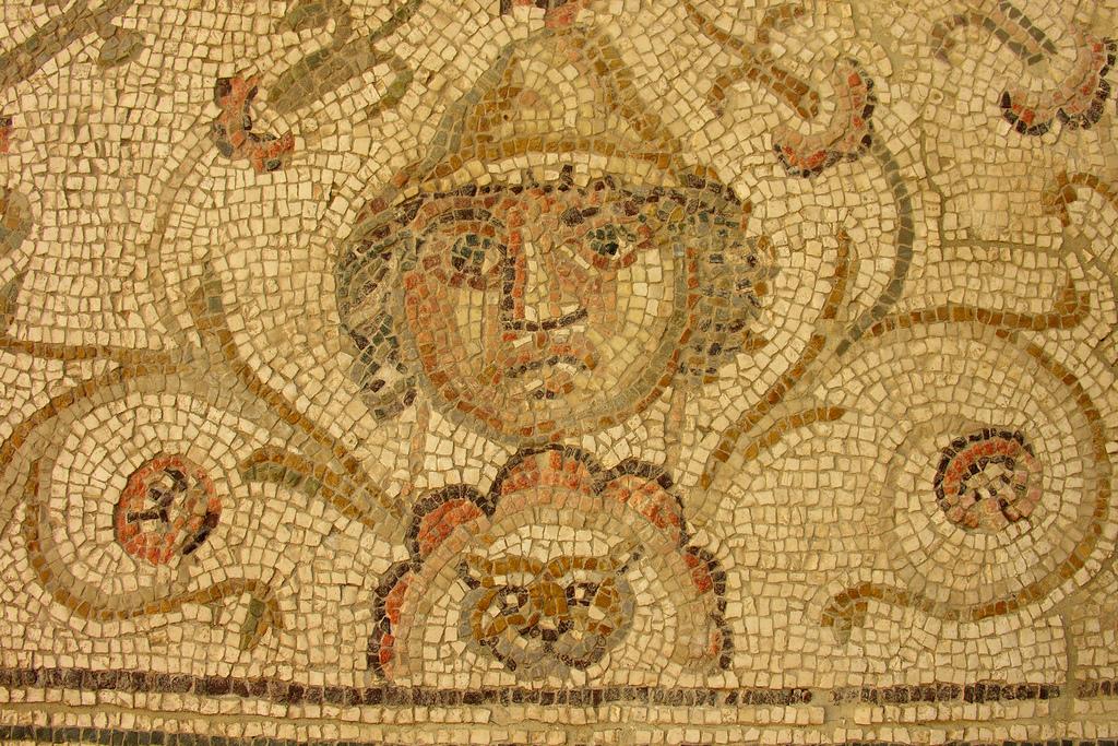 Mosaico romano de la antigua Astigi. Écija (Sevilla)