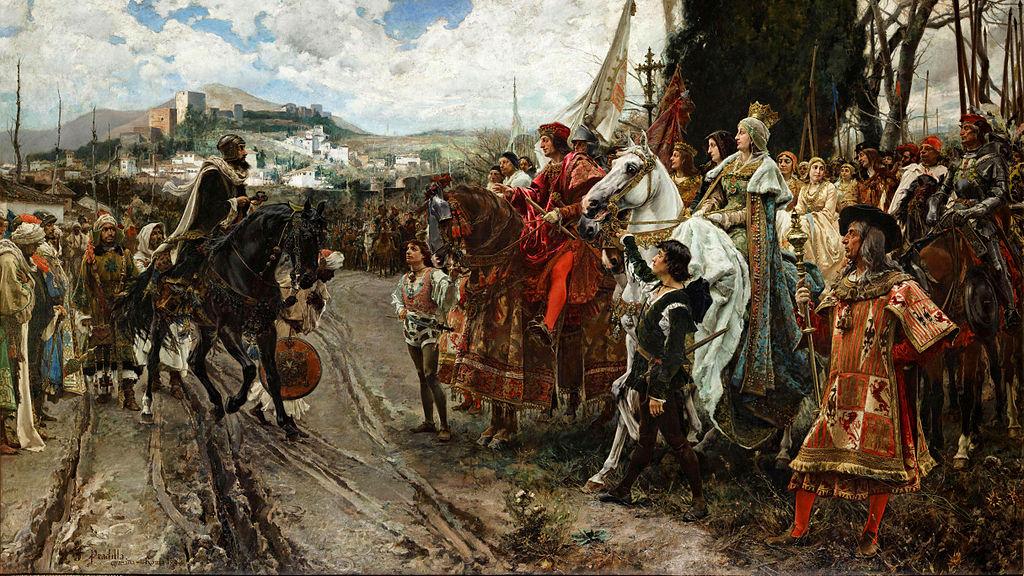 La Rendición de Granada. Francisco Pradilla Ortiz
