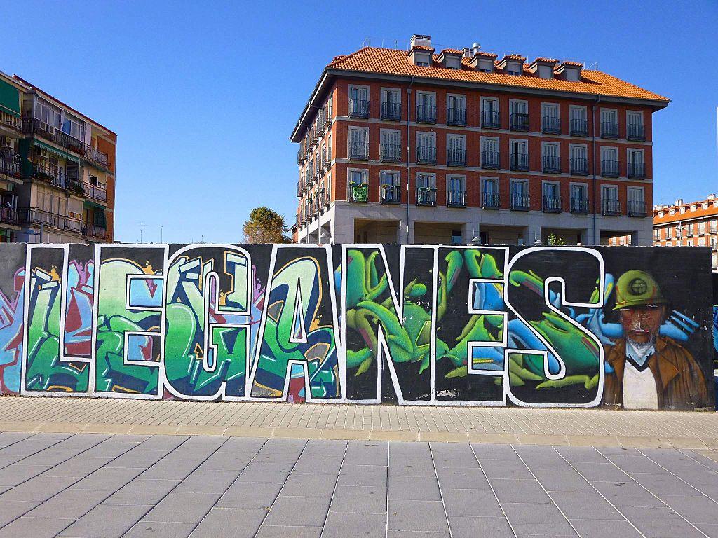 Leganés. Graffiti. Por Zarateman