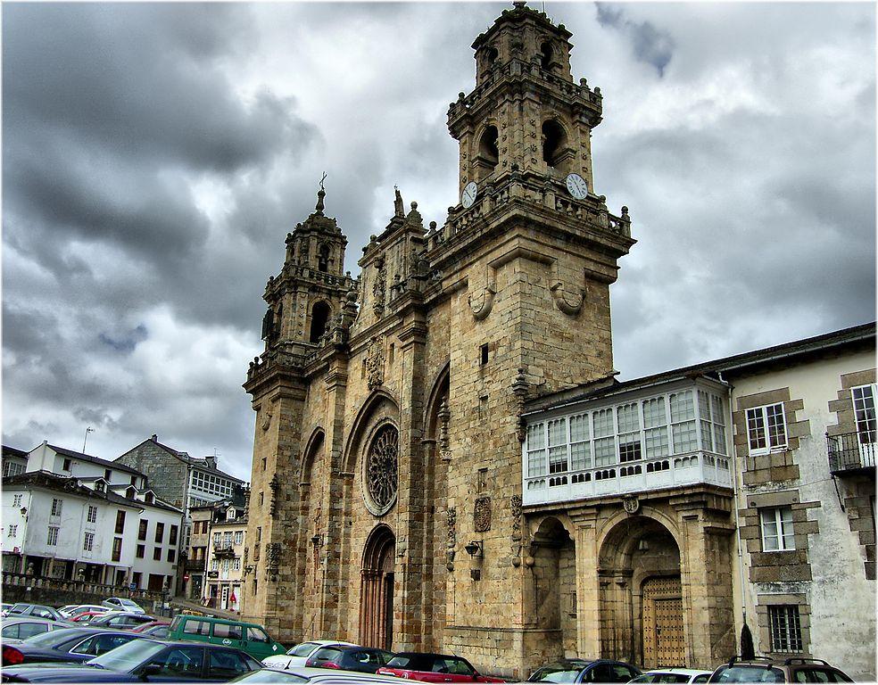 Catedral de Mondoñedo (Lugo). Por Jose Luis Cernadas Iglesias.