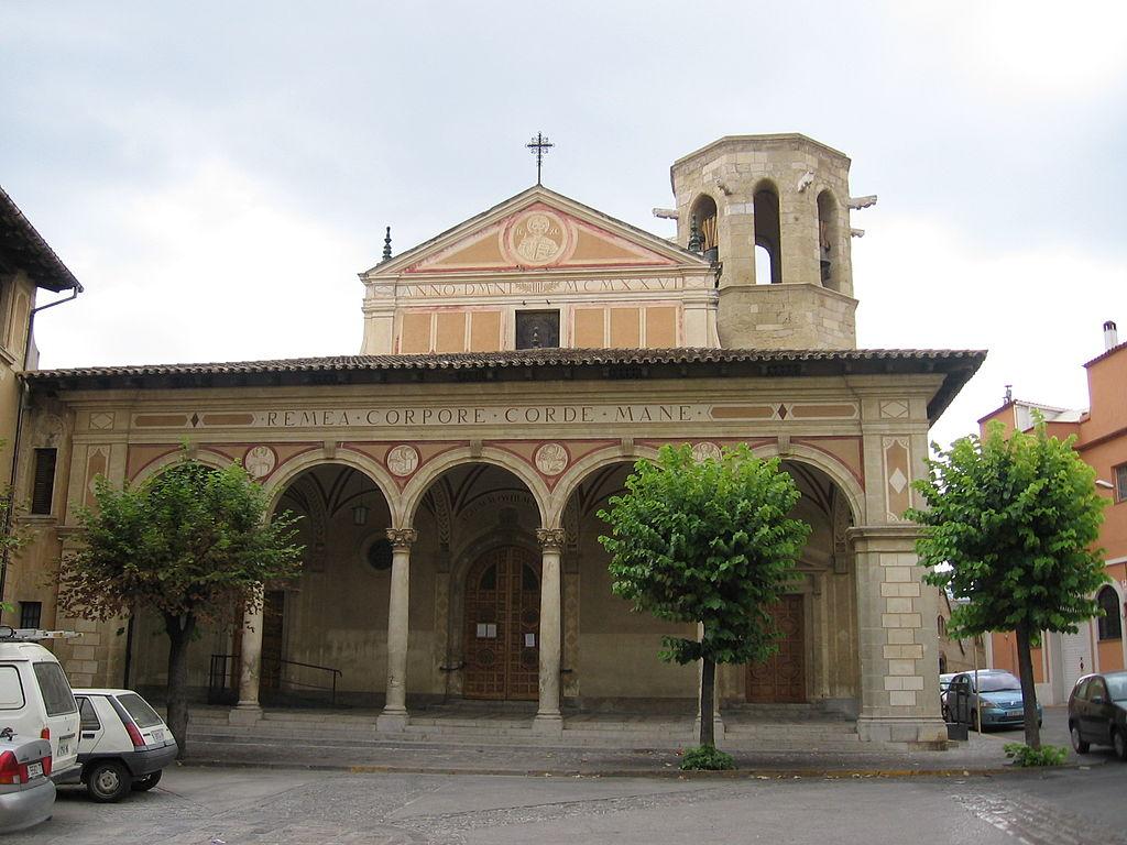 San Sadurní de Noya (Barcelona). Parroquia. Por Digigalos