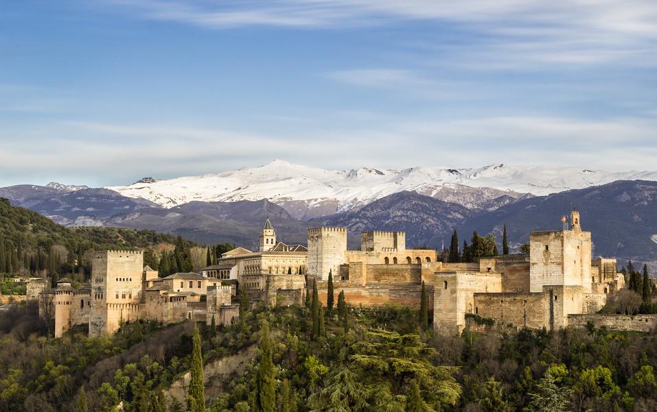 La Alhambra y Sierra Nevada (Granada)