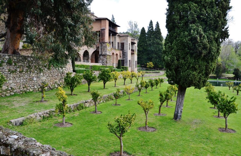 Real Monasterio de San Jerónimo . Yuste (Cáceres). Por María Rosa Ferré, de Vilafranca del Penedes