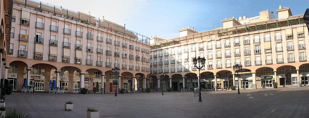 Plaza Mayor de Elda (Alicante). Por José Manuel Pérez